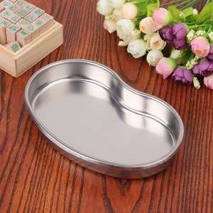 Storage-Dish Tray Stainless-Steel Medicalball Silver Dental Disinfecting Nail Cylinder