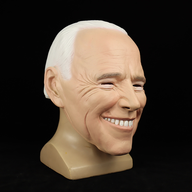 Фото маска джо биден 2020 год кампания президентских выборов голосование