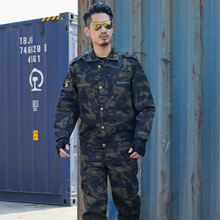 Tactical Clothing Military Army Suit ACU Men Women Camouflage Costumes Navy US Uniform Jacket Combat-Proven Clothes