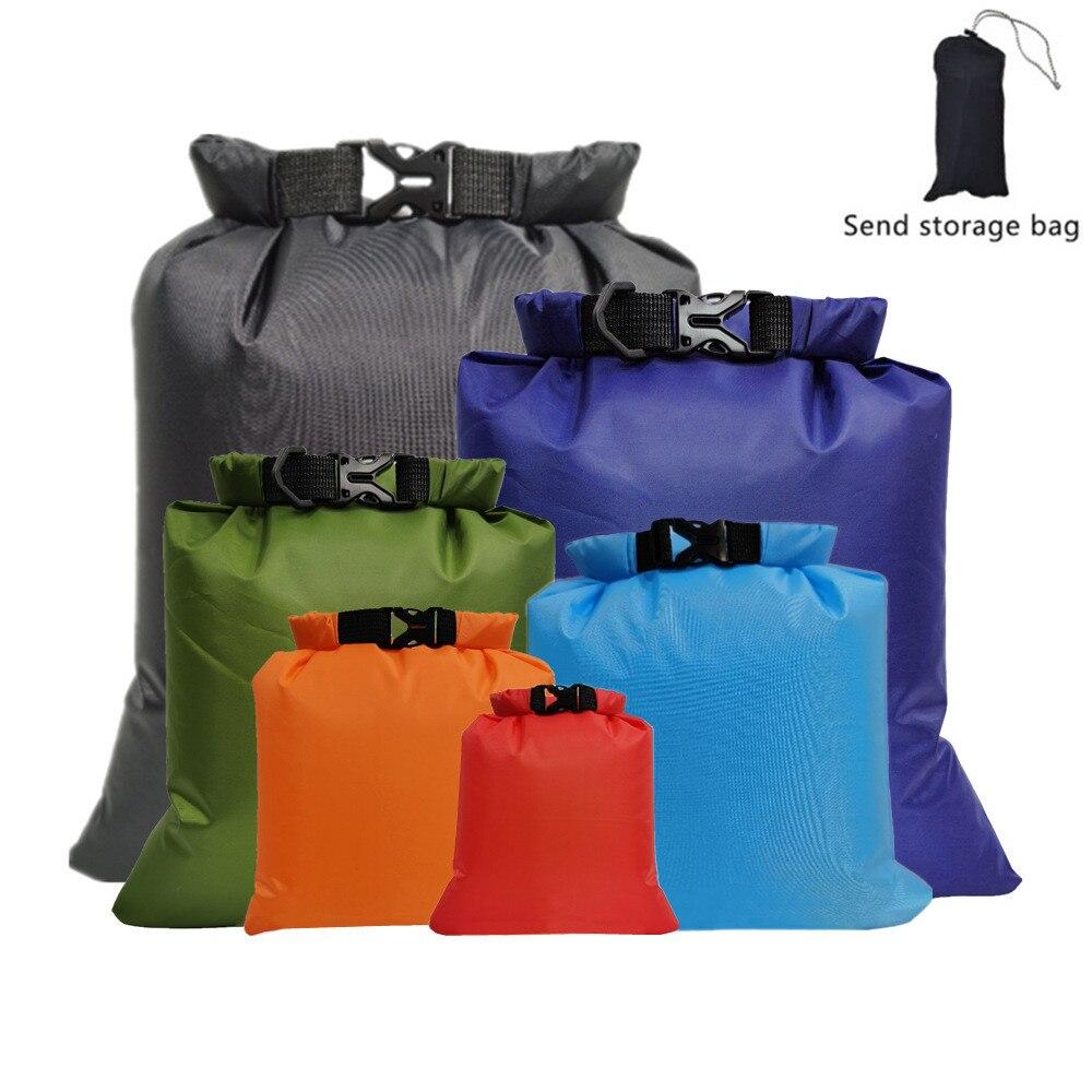 6 шт./компл. уличная сухая водонепроницаемая сумка, сухая сумка, Водонепроницаемые Плавающие сухие сумки для снаряжения для лодки, рыбалки, р...