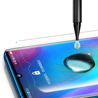 Protector de pantalla de cristal templado para Huawei P30 Pro MATE 20 PRO, Nano líquido UV, cobertura completa, 10D