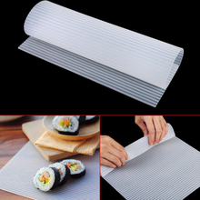 Silicone Sushi Maker Roll Curtain Rice Sushi Bazooka Vegetable Meat Rolling Tool DIY Sushi Making Machine Kitchen Sushi Tool sushi rolling making tool