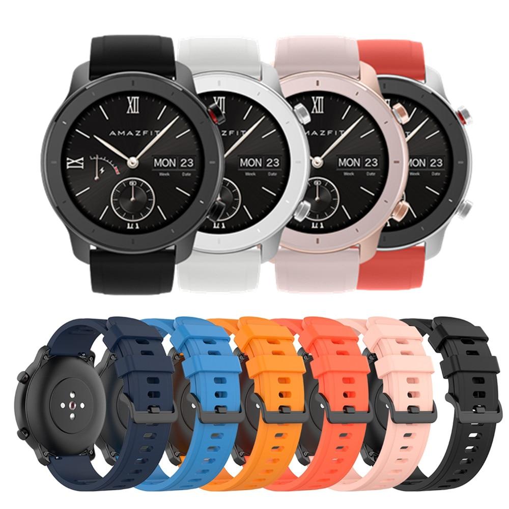 For Xiaomi Huami Amazfit GTR 42mm Official Watch Band For GTR 47mm For Amazfit Pace/Stratos/Stratos 2 3 22mm 20mm Bracelet Strap