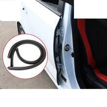 Lsrtw2017 Car Door Sealing Strip Noise Insulation for Kia Rio X Line Kx Cross K2 Rio 2017 2018 2019 2020 Interior Accessories накладки под ручки дверей kx cross для kia rio x line 2017