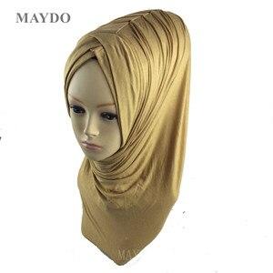Image 1 - TJ29 1, moda, hiyab musulmán, bandana, Pashmina, mantón musulmán