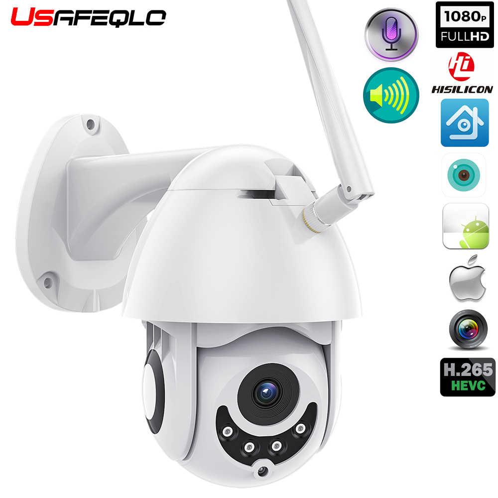 Wifi Camera Outdoor Ptz Ip Camera H 265x 1080p Speed Dome Cctv Security Cameras Ip Camera Wifi Exterior 2mp Ir Home Surveilance Surveillance Cameras Aliexpress