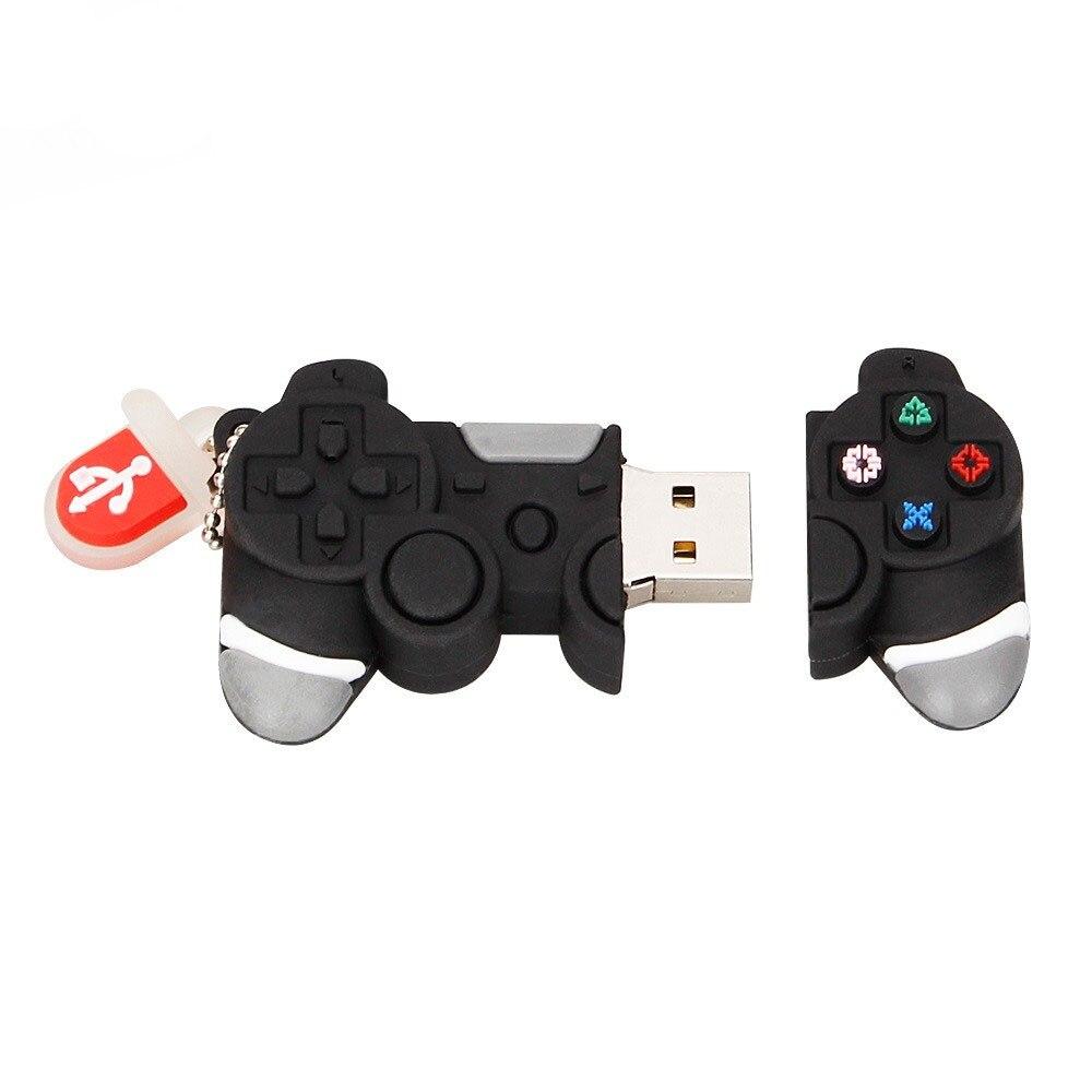 Usb Memory Stick 128gb Cartoon Game Controller USB Flash Drive 4GB 8GB Pendrive 16GB Pen Drive 32GB 64GB Handle Model Free Ship