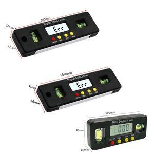 Мини цифровой транспортир, угломер, инклинометр, электронный уровень с магнитом, Премиум Новый