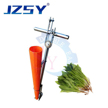 New type farm manual chain type vegetable seedling planting machine/hand pepper tomato plantlet transplanter fertilizer tool
