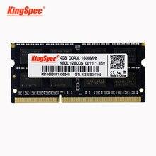 KingSpec ram laptop ddr3 meomry ram 8gb ddr3 Memoria Ram Für Laptop 1600MHz ram ddr3 4gb 8gb für Lenovo b590,x230,Hp s4540pro