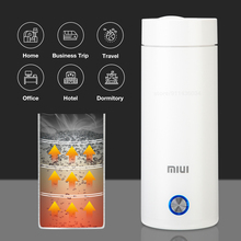 Xiaom MIUI Portable Electric Kettles Mini Smart Thermal Cup Make Tea Coffee Travel Office Car White Keep Warm Kitchen Appliances