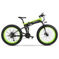 Hot Sale Ebike with 26'' 48v 1000w Big Power Electric Bike/snow Ebike Fat Tire Folding Electric Beach Cruiser Bicycle
