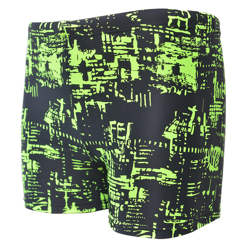 Digital Printing AussieBum/MEN'S Swimming Trunks Boxer Hot Springs Swimming Trunks Men's Swimming Suit Large Sizes Availiable