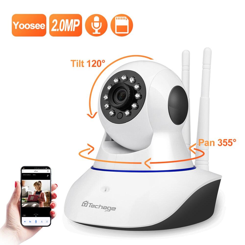 Yoosee 1080P Wireless IP Camera Pan/Tilt 2MP Dome Indoor Two-Way Audio CCTV WiFi Camera Home Video Security Surveillance