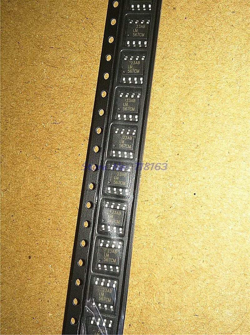 10pcs/lot LM567CMX LM567CM LM567 SOP-8 In Stock