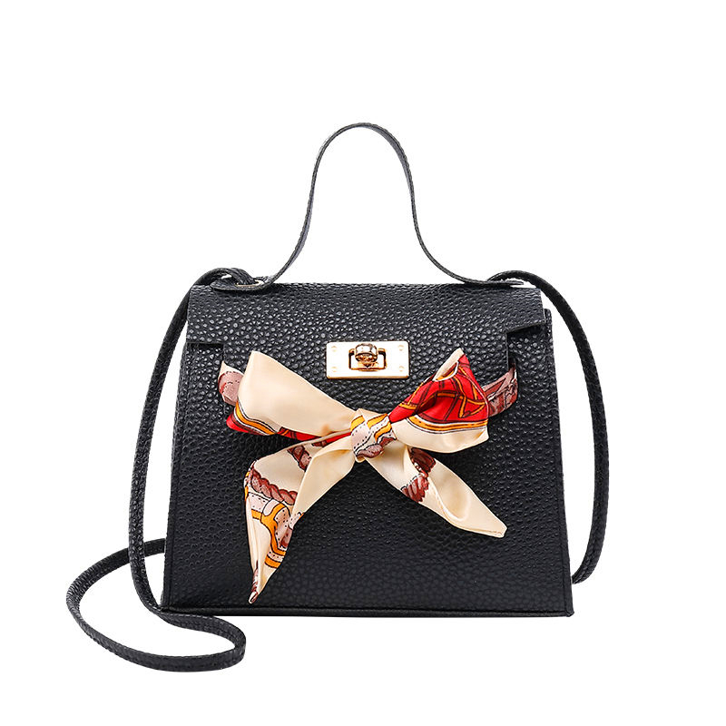 Shoulder Messenger Bag 2019 Women Pu Leather Handbags Locked Tote Bow New Women's Bag Crossbody Bag Satchel Purse Clutches Women