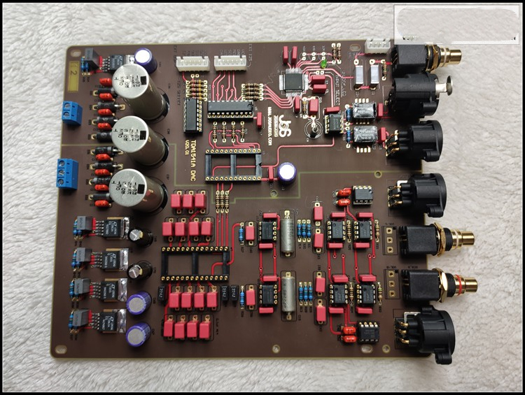 JOSAUDIO Philips Hifi Forum 10th Anniversary TDA1541 DAC decoder board PCB