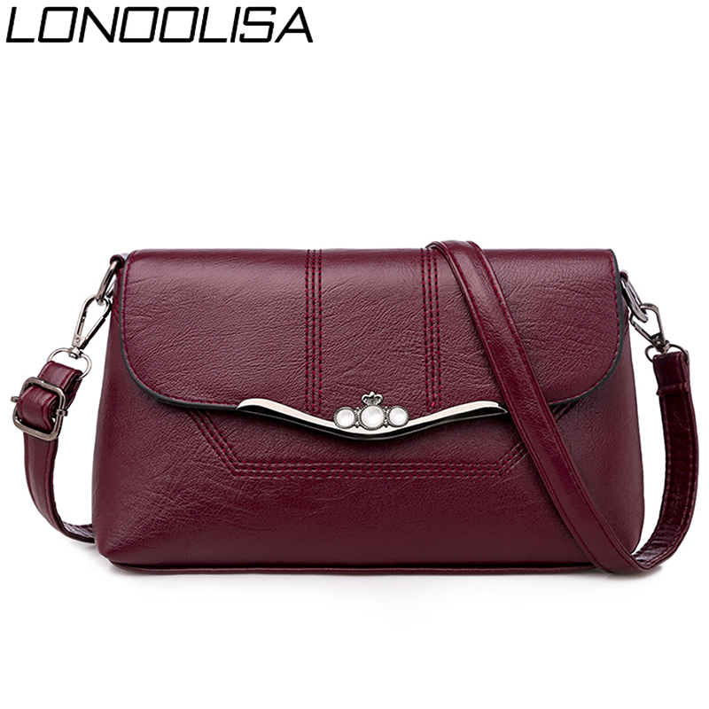 Sac A Main Luxury Handbags Women Bags Designer Handbags High Quality Pu Leather Ladies Crossbody Shoulder Bags For Women 2019