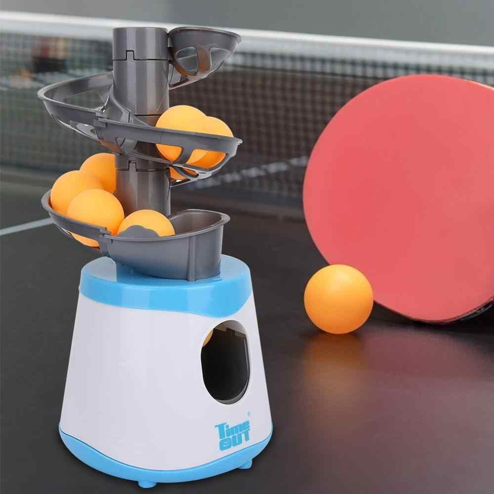 Equipo de accesorios de tenis de mesa de Pong para exteriores portátil para niños, máquina de tenis de mesa, lanzador de Pong