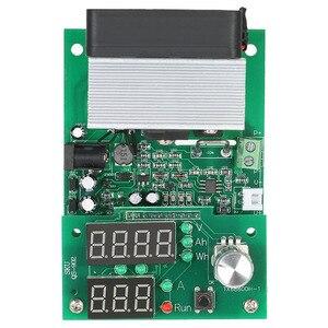 Image 5 - Carga electrónica de corriente constante multifuncional 9.99A 60W 30V descarga módulo probador de capacidad de batería de alimentación
