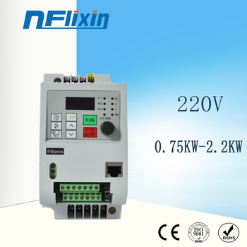 1HP vfd danfoss ac drive vfd frequency inverter with water pump D11series 220V 750W image