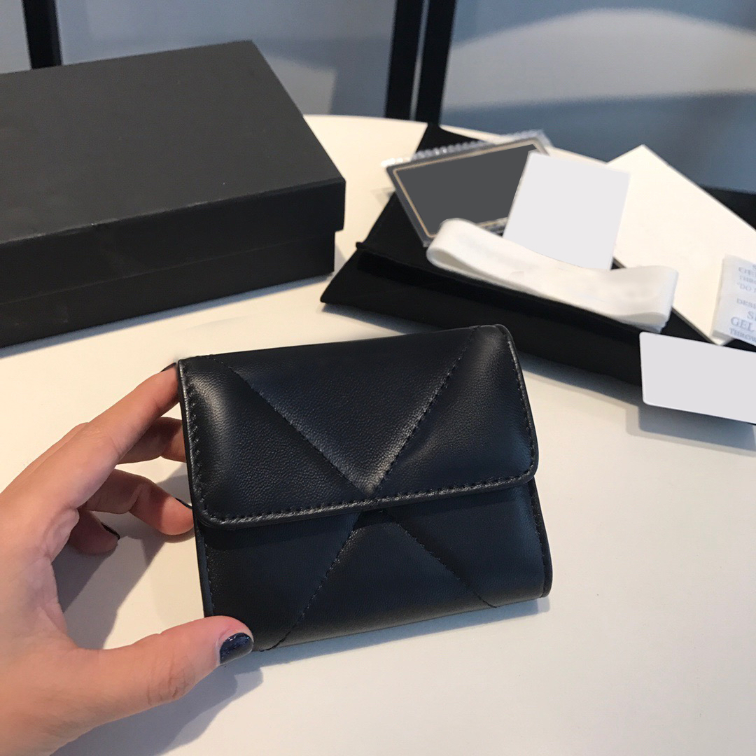 2021 new high-end custom luxury women's wallet casual fashion card holder diamond bag