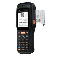 QS Handheld PDA Barcode Scanner Rugged 3.5 inch Touch screen 3G Wifi Bluetooth Android 6.0 POS terminal with 58mm thermal printe