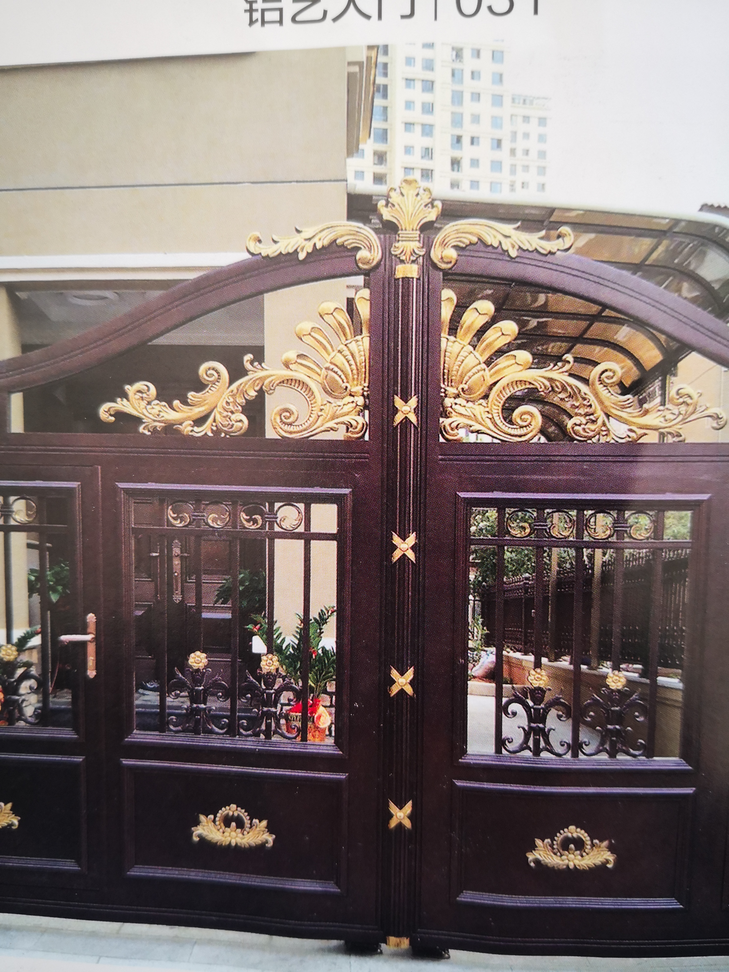 Shanghai Hench  Custom USA Australia Home Use Decorative Custom Aluminum Gates