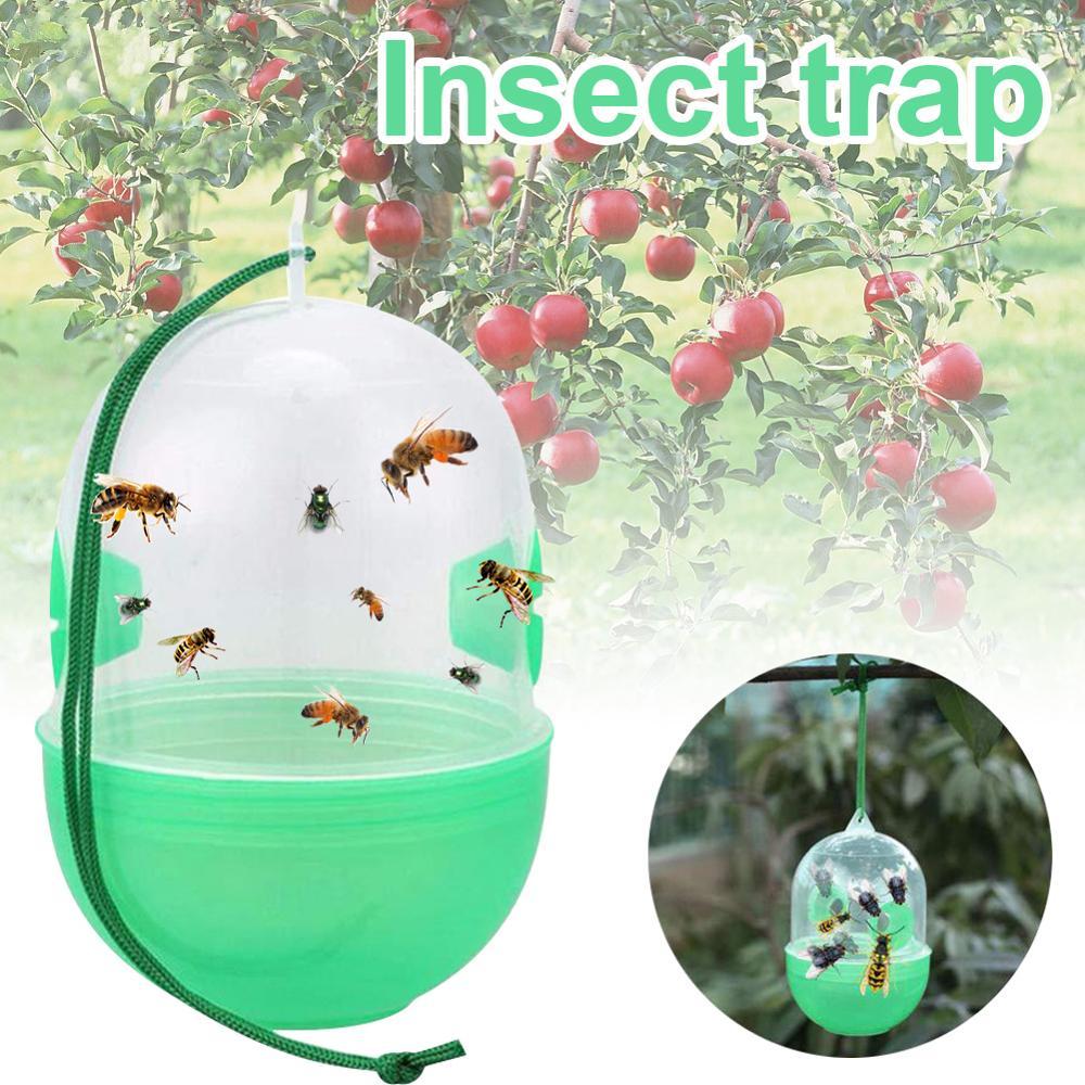 Yeniden kullanılabilir açık Wasp asılı sinek tuzak avcısı arıcılık Catcher kafesi ekipman aletler için eşekarısı arılar Hornet haşere kontrolü bahçe