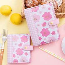 Dokibook Korean leather ring binder notebook A5A6A7 2018 Planner agenda Personal diary book Stationery store school supplies