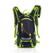 18L wodoodporny plecak sportowy plecak torba na wodę na kemping wyprawę rower plecak z bezpłatną osłoną przeciwdeszczową tanie tanio CN (pochodzenie) 45cm nylon Plecaki 0 8kg Hiking Camping Travel Cycling 22cm Motorcycle Backpack 26cm 45x26x22cm