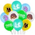 10 шт./лот Raya воздушные шары Raya и последний Шар Дракона тема «Город героев для девочек вечерние Декор День Рождения украшения игрушки для дет...