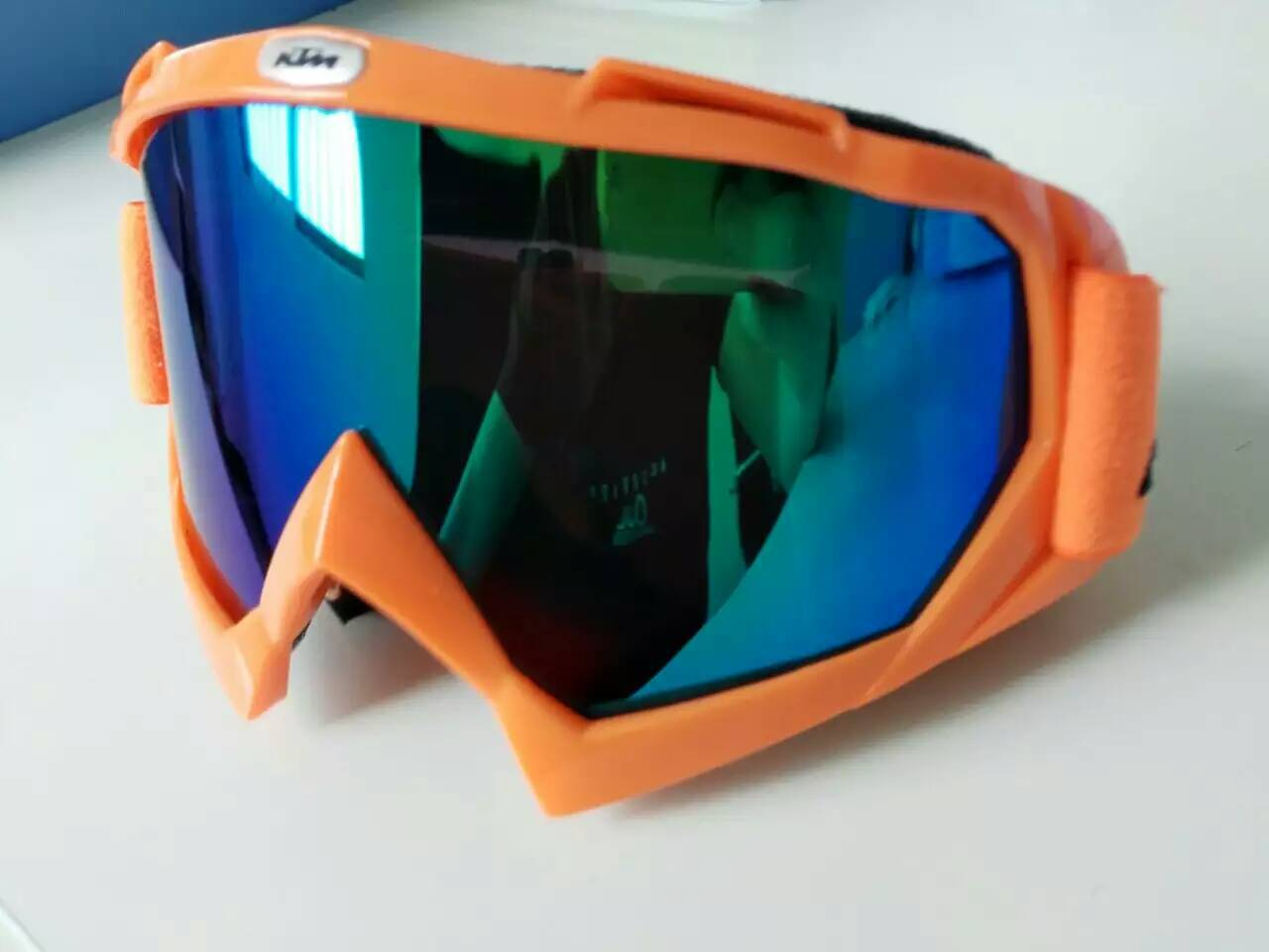 KTM Goggles For Motorcycle Off-road Helmet Goggles Windproof Ski Goggles Riding Dustproof Eye-protection Goggles