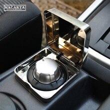 Dmax 2012 + إكسسوارات سيارات عصرية D MAX صندوق دفع لجميع العجلات لحماية غطاء مفتاح 4WD صندوق شفاف ABS من الكروم