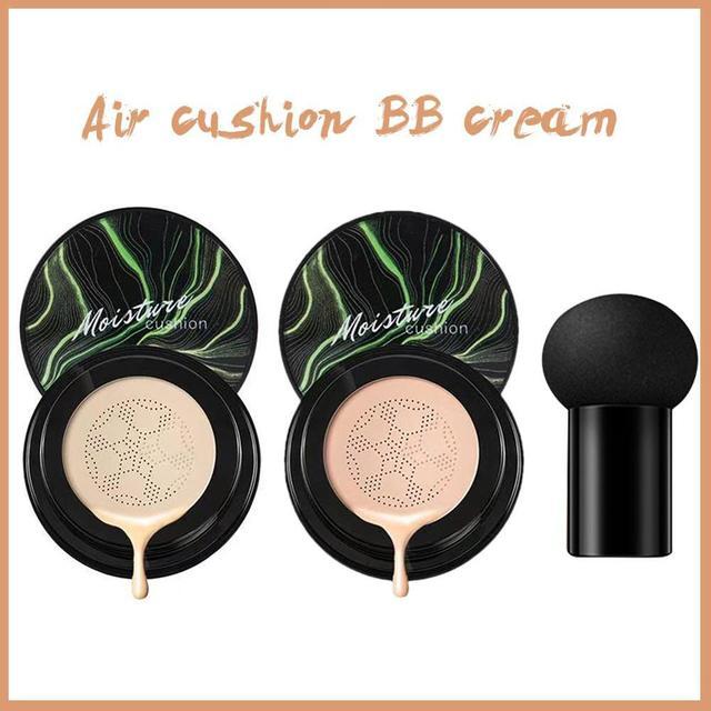 Mushroom Head Make up Air Cushion Moisturizing Foundation Air-permeable Natural Brightening Makeup Care BB Cream 3