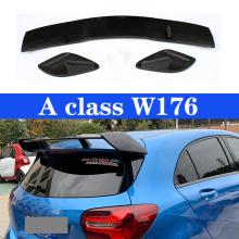 Car Rear Roof Wing CF Spoiler For Mercedes-Benz A-Class W176 A180 A200 A260 A45 AMG 2013-2018