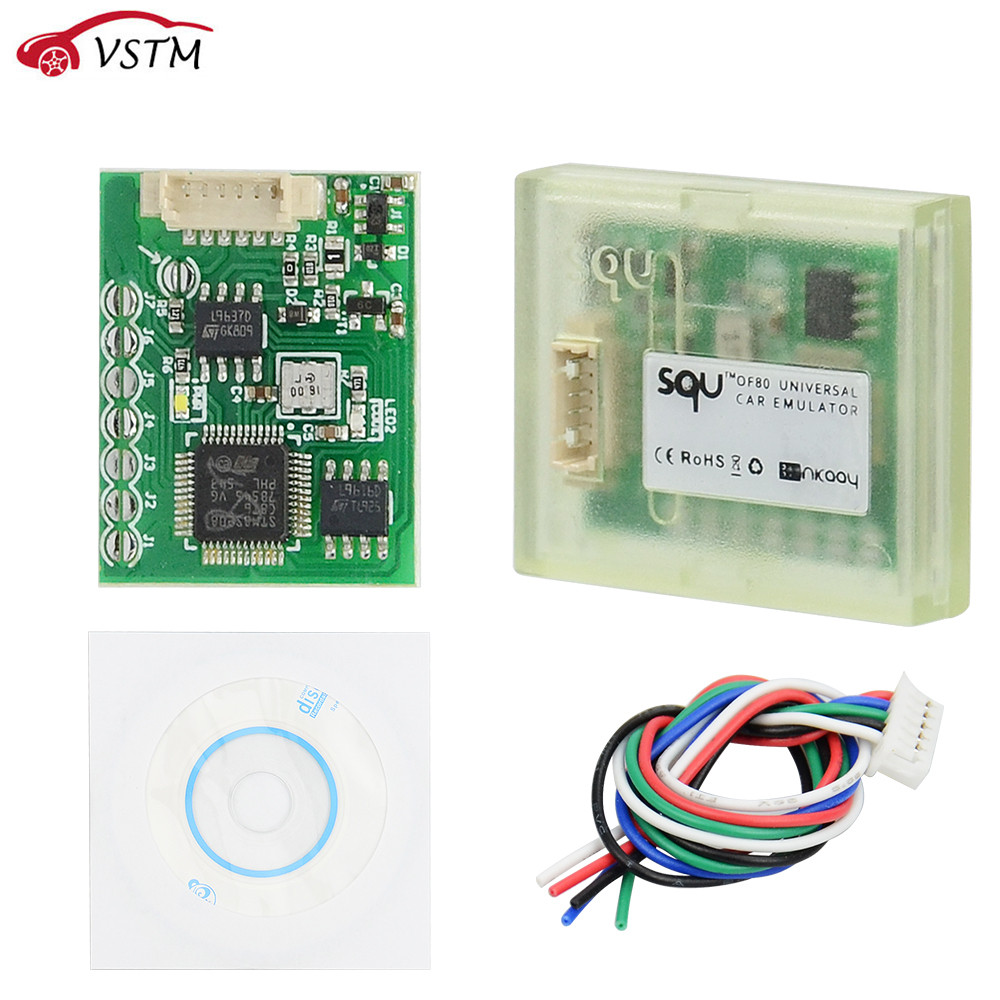 New SQU OF80 OF68 Universal Car Immo Emulator Support Seat Accupancy Sensor/ IMMO/Tacho Programs