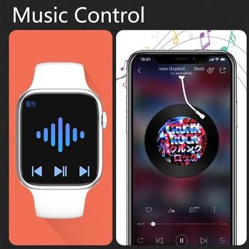 CHYCET Original IWO Smart Watch Men Series6 Wireless Charging 1.75 Inch Smartwatch Women Dial Call DIY Faces PK W66 HW22 T500 6