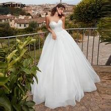 Кружевное свадебное платье sevintage в стиле бохо аппликация