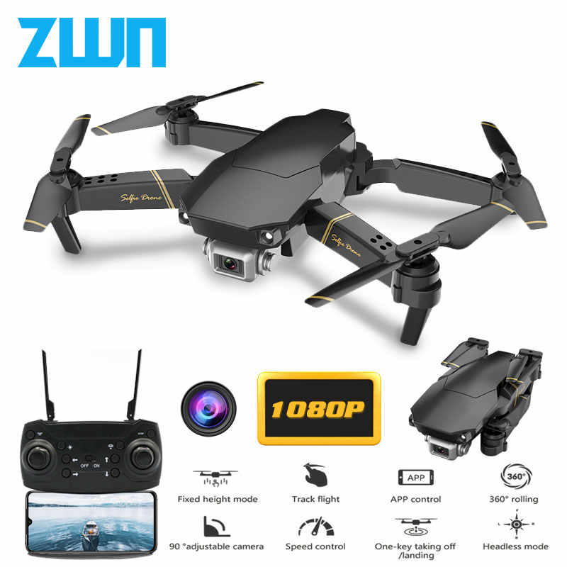 Mais novo Z20 RC Drone com FPV WIFI 480 P/1080 P HD Camera Quadcopter Altitude Hold Headless Modo Mini drone VS XS816 E58 EXA Dron