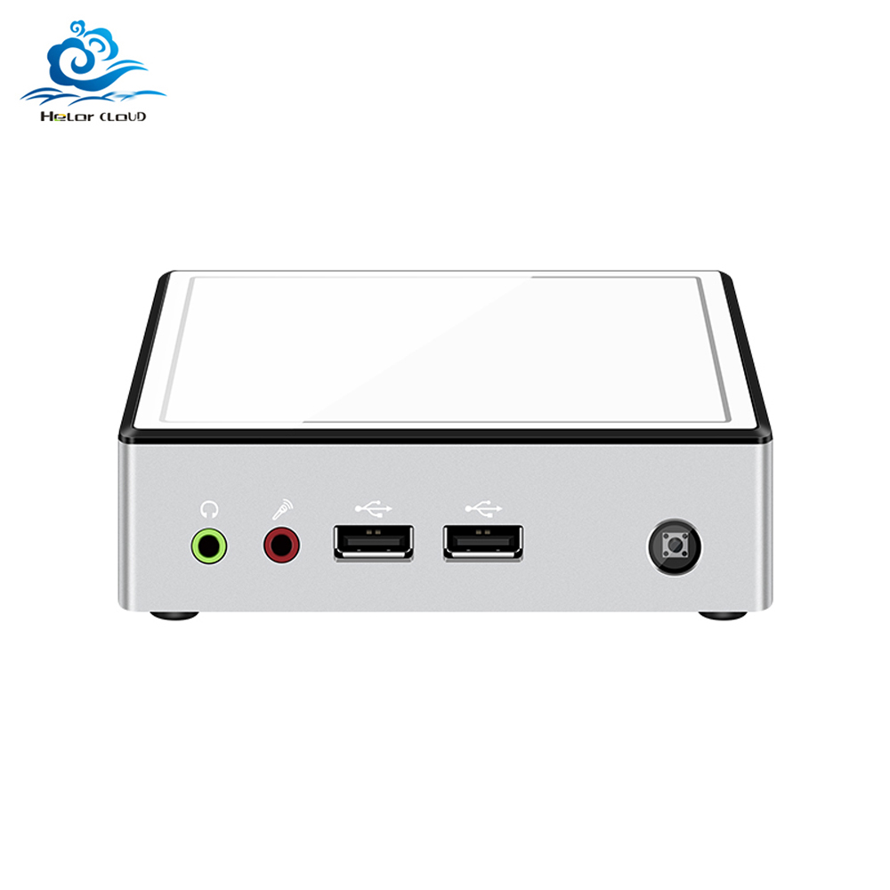 Mini PC Celeron 2955U I3 4010Y I5 4210Y 4200U I7 4500U Windows 10 Mini Computer Cooling Fan Desktop Office PC DDR3 HDMI HTPC
