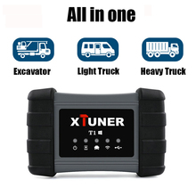 Xtuner T1 Heavy Duty Truck Diagnostic Tool SRS ABS DPF EGR Reset For VOLVO MAN IVECO Truck Scan Tool Xtuner Diesel OBD2 Scanner