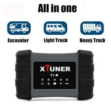 Xtuner T1 ciężkie narzędzie diagnostyczne do ciężarówki SRS ABS DPF EGR Reset do VOLVO MAN ciężarówka iveco skaner Xtuner Diesel skaner OBD2