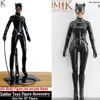Kumik KMF022 1/6 Custom CG CY Girl Female Catwoman Batman 1989 Action Figure Collection Doll Toys Gift цена 2017