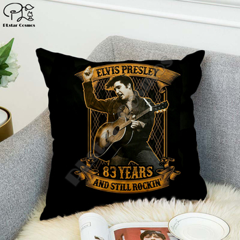 Rock singer Bob Marley/The Hillbilly Cat Hip Hop Pillow Case Polyester Decorative Pillowcases Throw Pillow Cover Square style-1 image