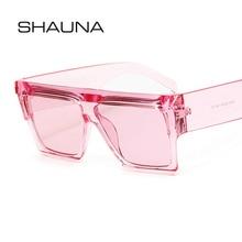 SHAUNA Oversize Square Sunglasses Women Brand Designer Men S