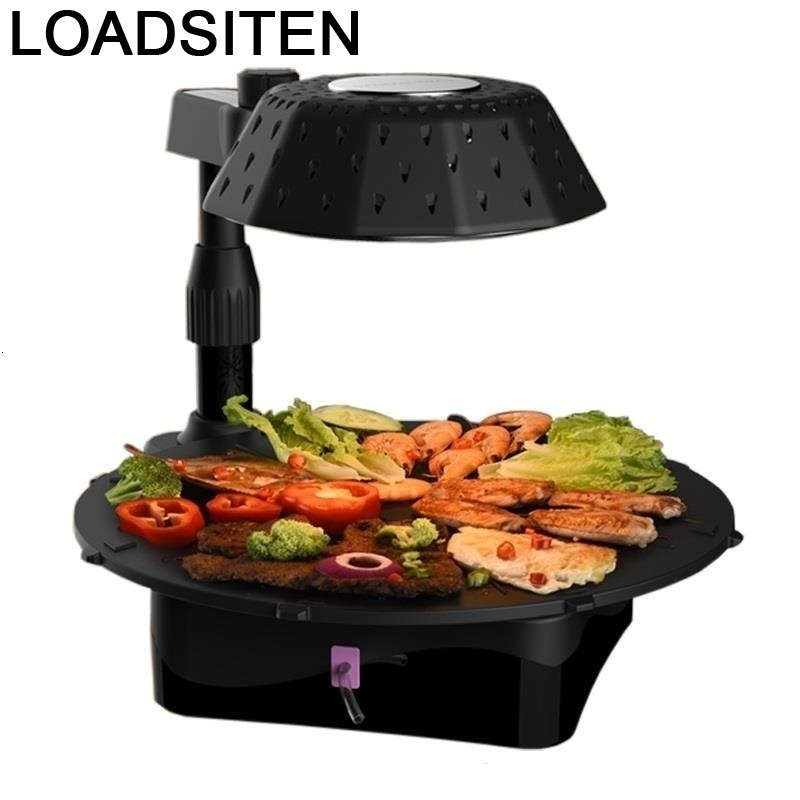 Portatil Rotisserie Grelha Parrilla Gril Grilling Kamado Camping Chapa Churrasqueira Mangal Barbecue For Outdoor Bbq Grill