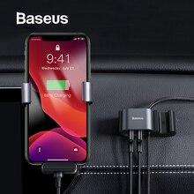 Baseus USB Kabel Auto RearSeat Dual USB Ladegerät mit Ladekabel für iPhone xr 8 7 6 6s plus USB Daten Kabel Telefon Kabel Adapter