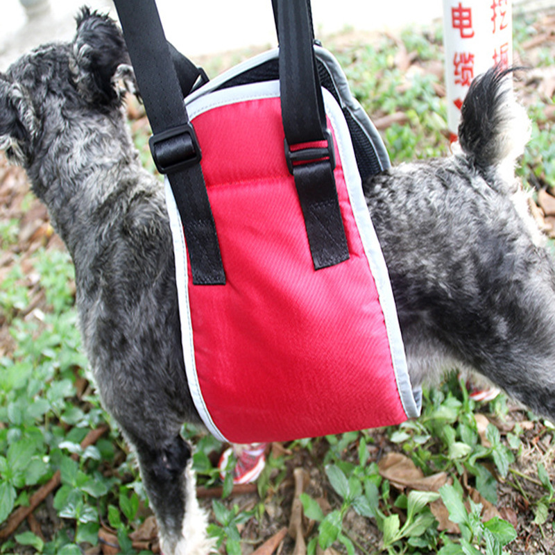 Pet Dog Walk Auxiliary Suspender Strap Older Dog Hind Legs Injured Protection Dog Walker With Car Upstairs Auxiliary Belt