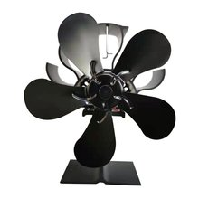 By Your Fireplace Wood Burning Stove Or Pellet Stove Effectively Dispersing Warm Air Around Your Room Electric Stove Fan tanie tanio CN (pochodzenie) fireplace thermodynamic blower five blades SG9600